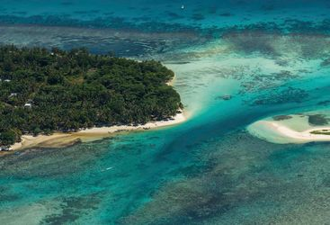An Aerial View of Ile Sainte Marie