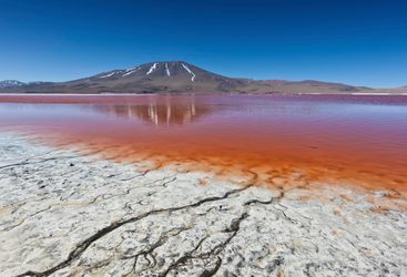 Orange Lagoon - Bolivia