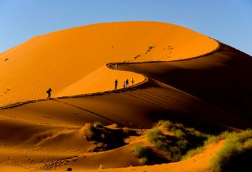 soussusvlei dunes in Namibia