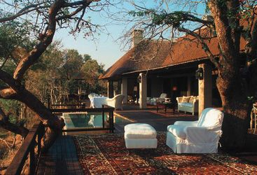 The suite exteriors at Royal Malewane, luxury safari camp in South Africa