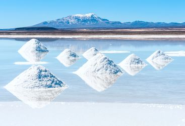 Salt Mounds - Bolivia