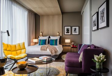 The Penthouse Suite at Das Stue, Berlin