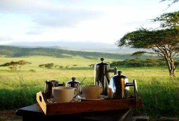 Exterior at Dunia Camp, luxury camp in Tanzania