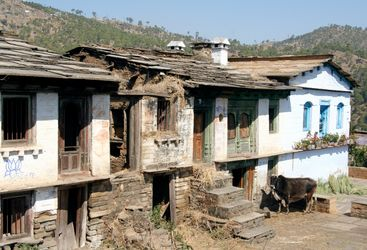 Kumao Village Houses, luxury hotel in India