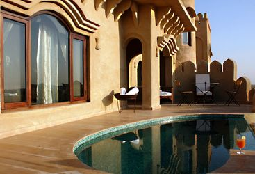 Mihir Garh , luxury hotel in India