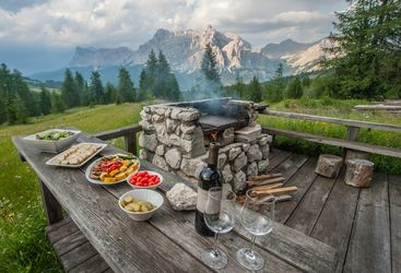 Hotel Rosa Alpina, Dolomites, Italy
