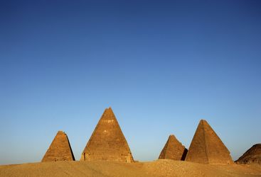 Pyramids in the Desert