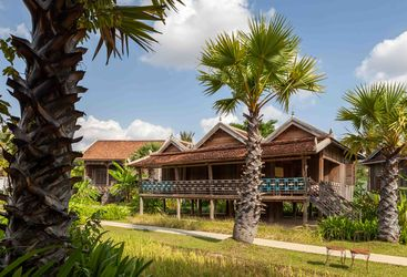 A Stilted House at Sala Lodges - Cambodia
