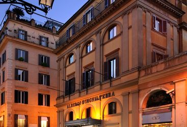 D'Inghilterra hotel, luxury hotel in Rome, Italy