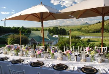Dining at Oaklands Country Manor, luxury hotel in South Africa