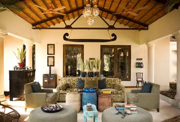 Interior at Baghvan, luxury hotel in India