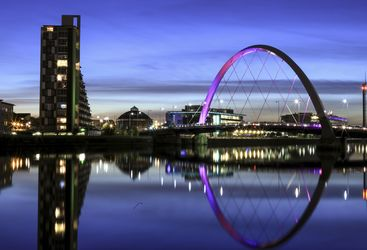An image of Glasgow's skyline