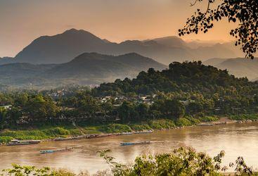 River view Luang Prabang