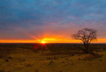 Lungwa sunset