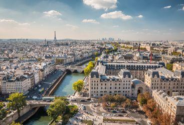 A panoramic view of Paris