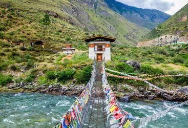 Bridge of Tachong Lhakhang Monastery
