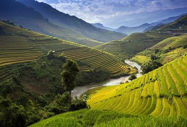 Hills in Vietnam