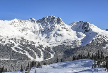 Whistler Blackcomb ski area