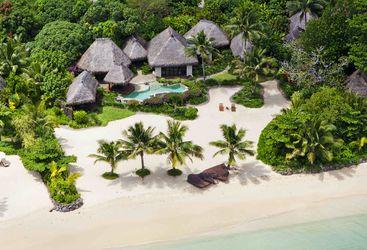 Beach on Laucala Island