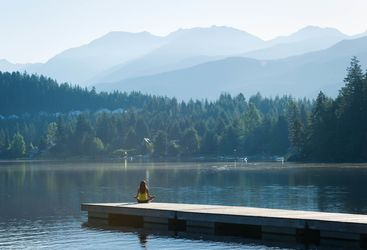 meditation in British Columbia