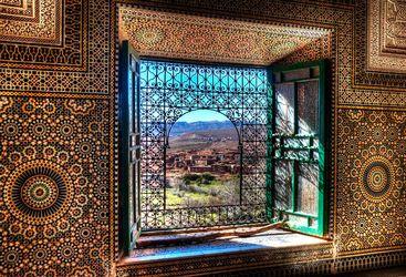 Window in Kasbah