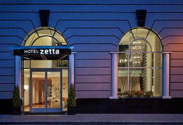 Hotel Zetta entrance