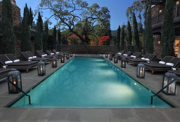 Pool at Yountville Hotel