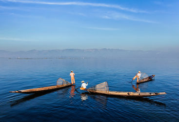 Blue Lake Inle