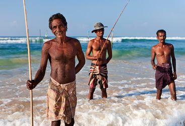 Sri Lankan fishermen