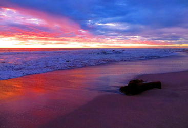 Sunset in Nicoya Peninsula