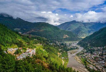 Dirang town, Indian Himalayas