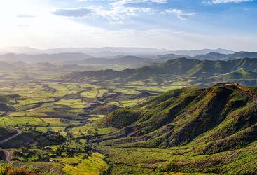 panorama ethiopia