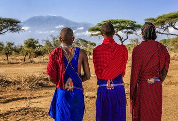 three maasai tribe