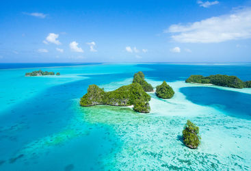 Islands in Palau, Micronesia