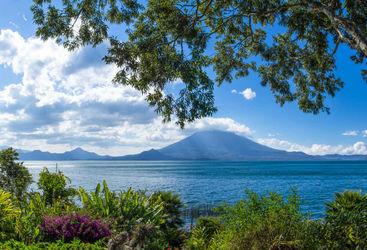 Lake Atitlan landscape