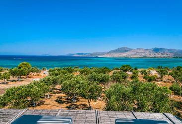 Peloponnese coastal view