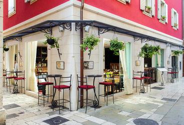 Hotel bar exterior