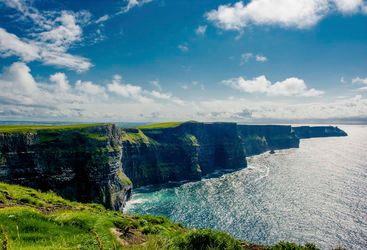 Cliffs of Moher sunshine