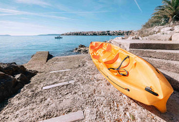 Kayak in Dalmatian Coast