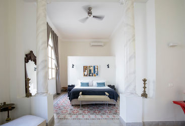 Inside the bright bedrooms