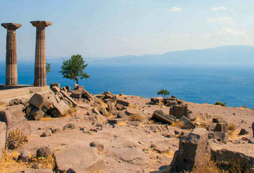 Old ruins in Assos