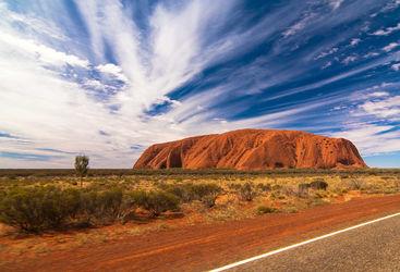 Uluru at daytime