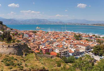 Peloponnese view