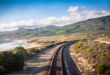 Railroad in Central California near Lompoc