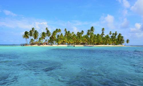 Island in Panama