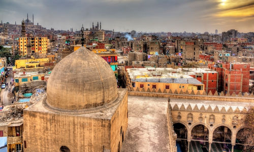 Cairo roofs