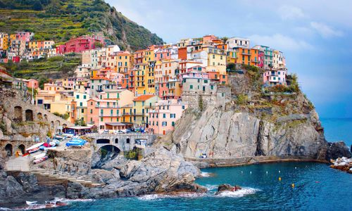 Manarola Village on the hillside