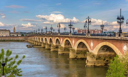 Bridge in the Dordogne