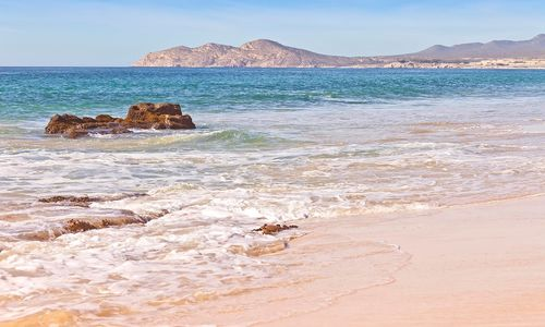 Baja California beach