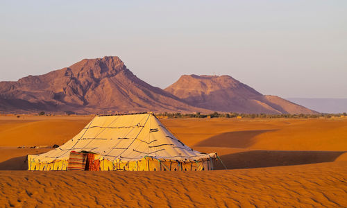 Tent in the Southern Desert